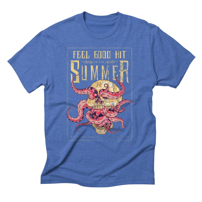 Feel Good Hit of the Summer Men's Triblend T-Shirt by Astronauta Store