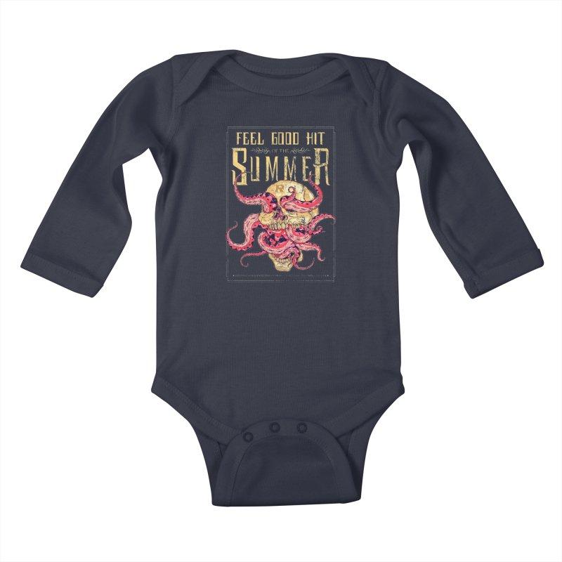 Feel Good Hit of the Summer Kids Baby Longsleeve Bodysuit by Astronauta Store