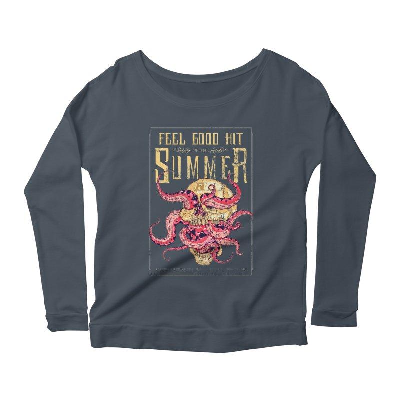 Feel Good Hit of the Summer Women's Longsleeve Scoopneck  by Astronauta Store