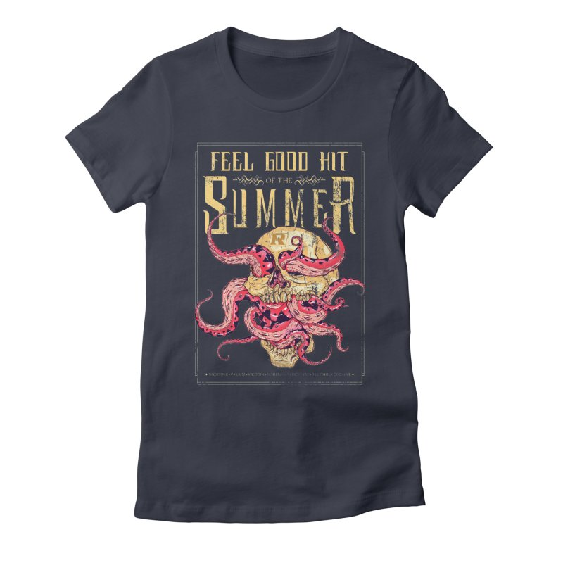 Feel Good Hit of the Summer Women's Fitted T-Shirt by Astronauta Store