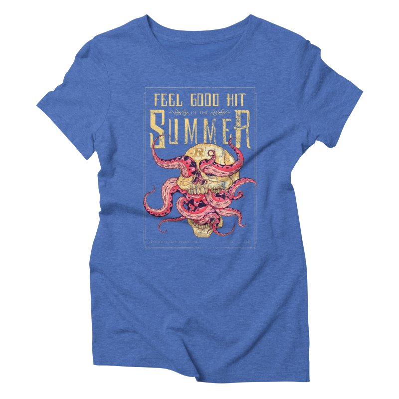Feel Good Hit of the Summer Women's Triblend T-shirt by Astronauta Store