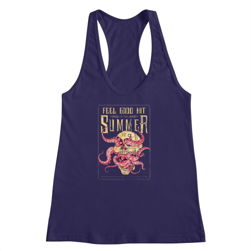Feel Good Hit of the Summer Women's Racerback Tank by Astronauta Store