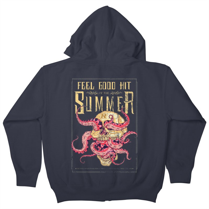 Feel Good Hit of the Summer Kids Zip-Up Hoody by Astronauta Store