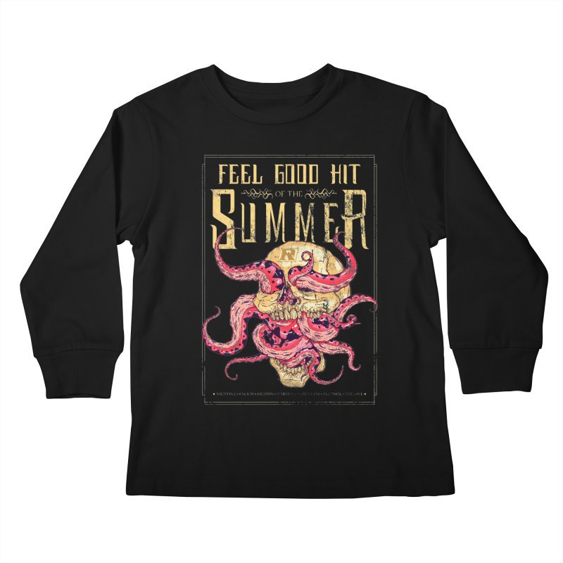 Feel Good Hit of the Summer Kids Longsleeve T-Shirt by Astronauta Store