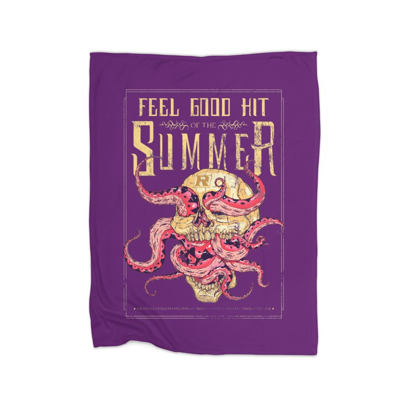Feel Good Hit of the Summer Home Blanket by Astronauta Store