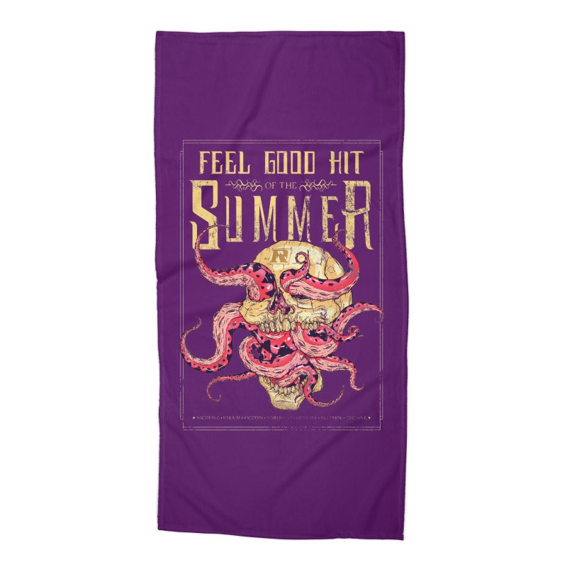 Feel Good Hit of the Summer Accessories Beach Towel by Astronauta Store