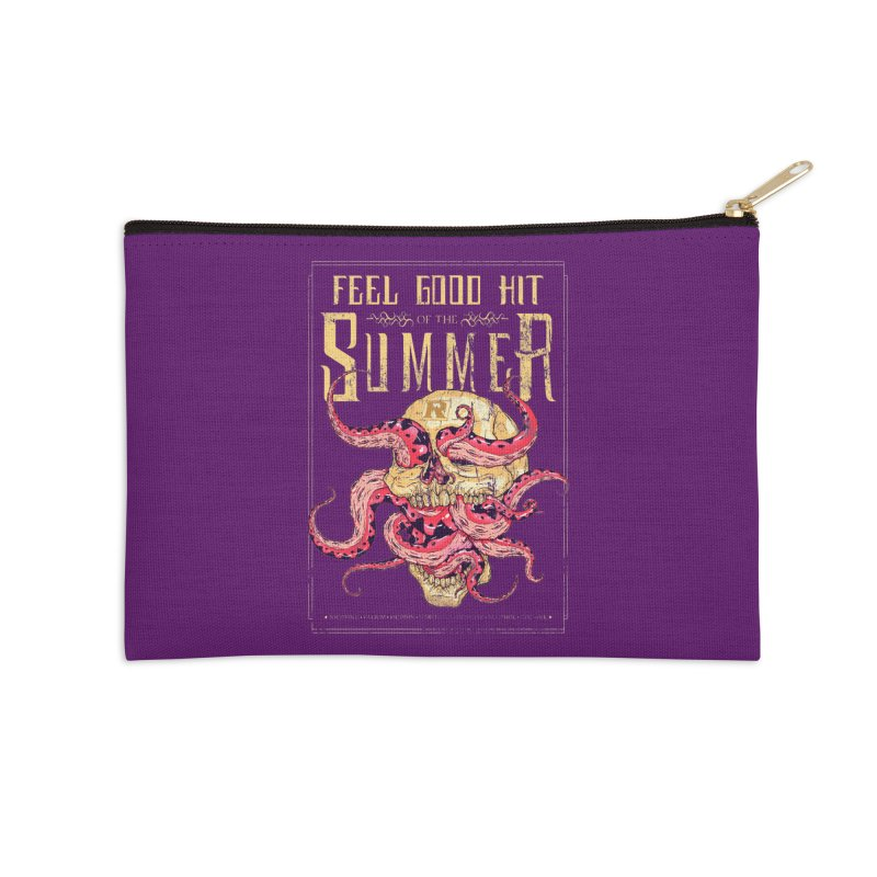 Feel Good Hit of the Summer Accessories Zip Pouch by Astronauta Store