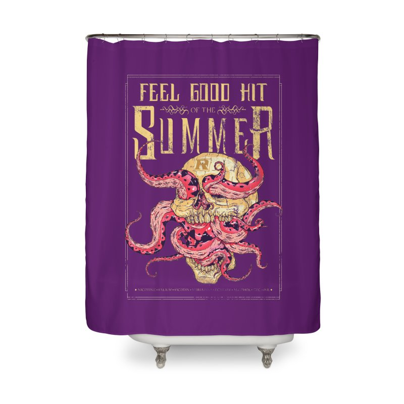 Feel Good Hit of the Summer Home Shower Curtain by Astronauta Store
