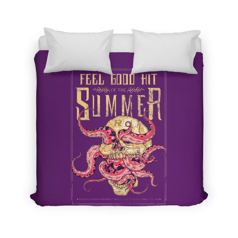 Feel Good Hit of the Summer Home Duvet by Astronauta Store