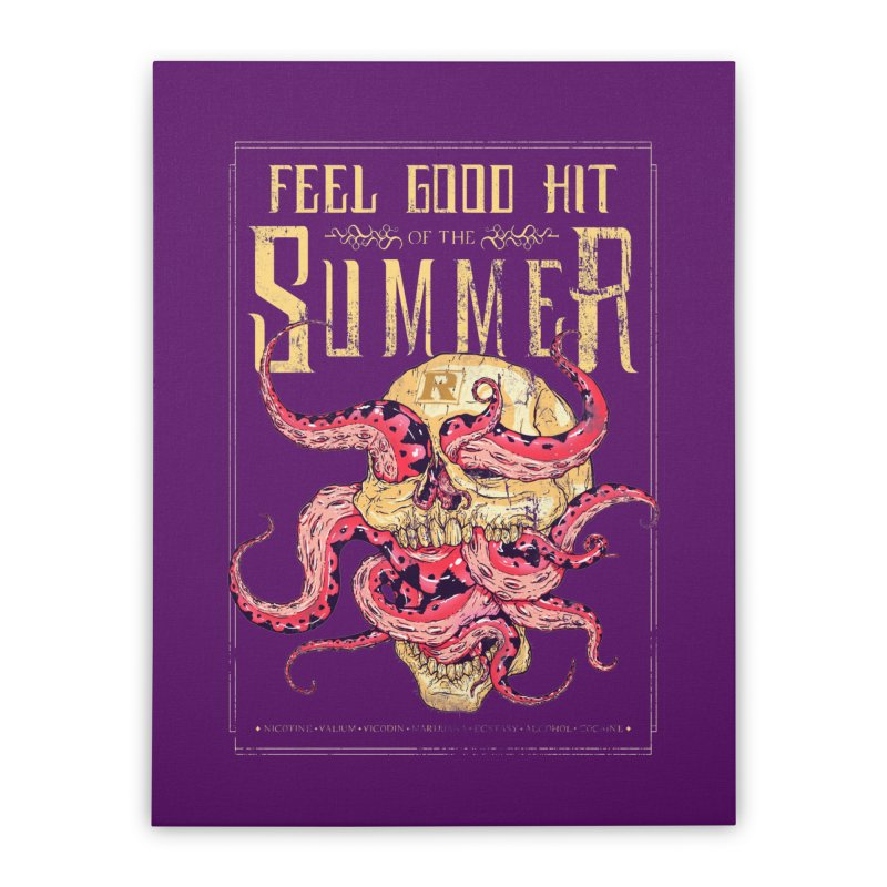 Feel Good Hit of the Summer Home Stretched Canvas by Astronauta Store