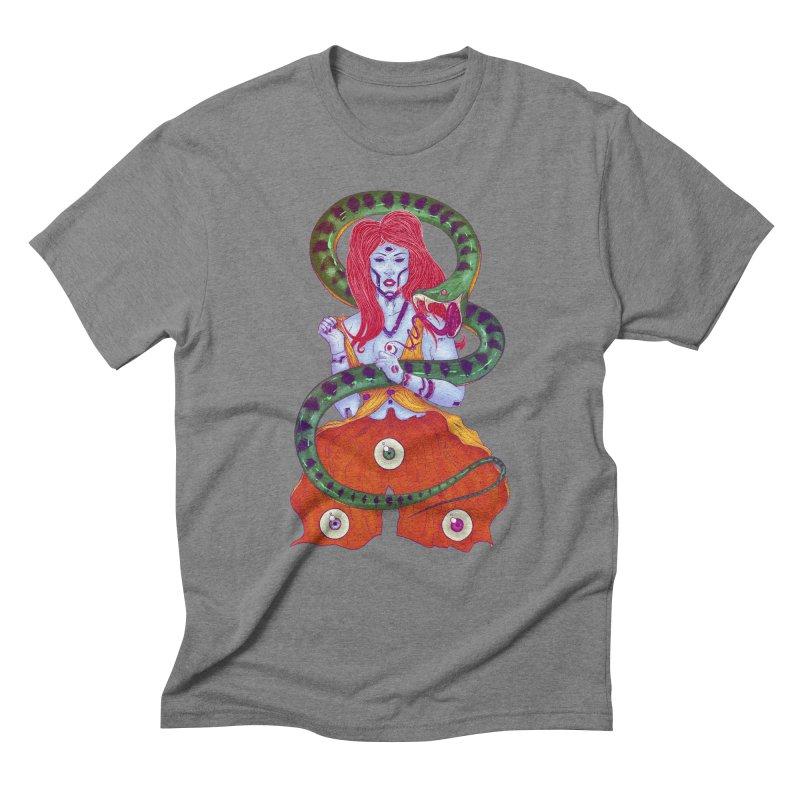 3 Eyes Men's Triblend T-Shirt by Astronauta Store