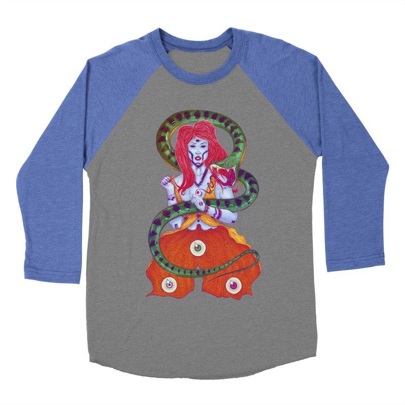 3 Eyes Women's Baseball Triblend T-Shirt by Astronauta Store