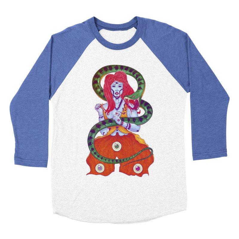 3 Eyes Men's Baseball Triblend T-Shirt by Astronauta Store