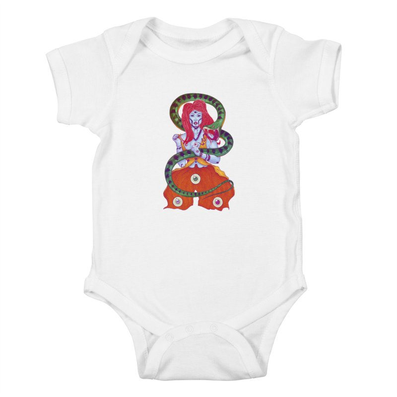 3 Eyes Kids Baby Bodysuit by Astronauta Store