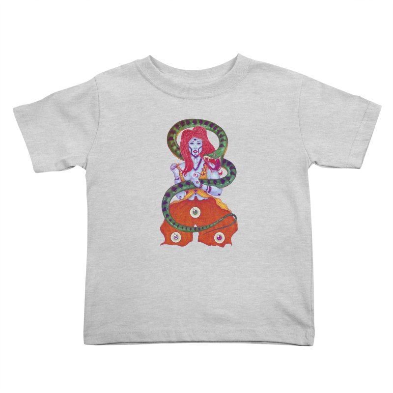 3 Eyes Kids Toddler T-Shirt by Astronauta Store
