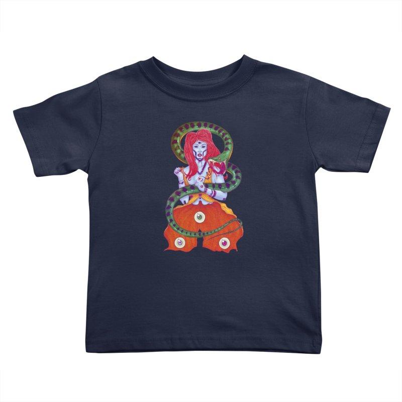 3 Eyes Kids Toddler T-Shirt by Astronauta Store