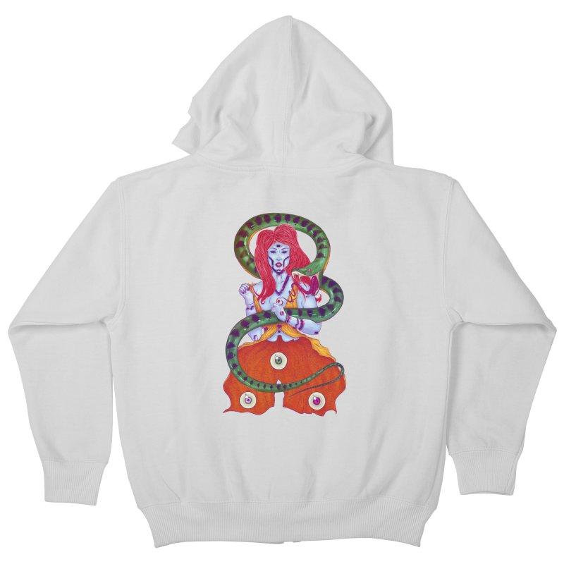3 Eyes Kids Zip-Up Hoody by Astronauta Store