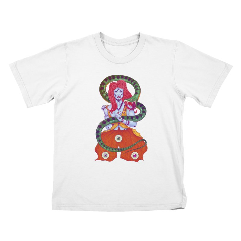 3 Eyes Kids T-Shirt by Astronauta Store