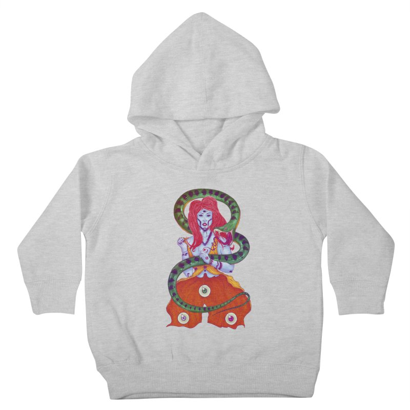 3 Eyes Kids Toddler Pullover Hoody by Astronauta Store