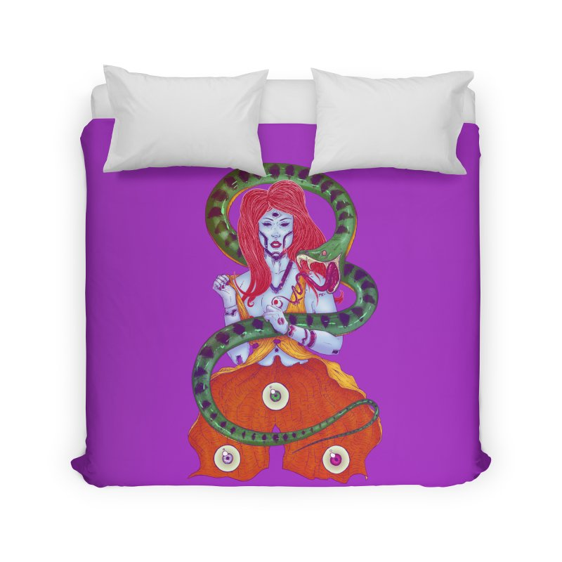 3 Eyes Home Duvet by Astronauta Store