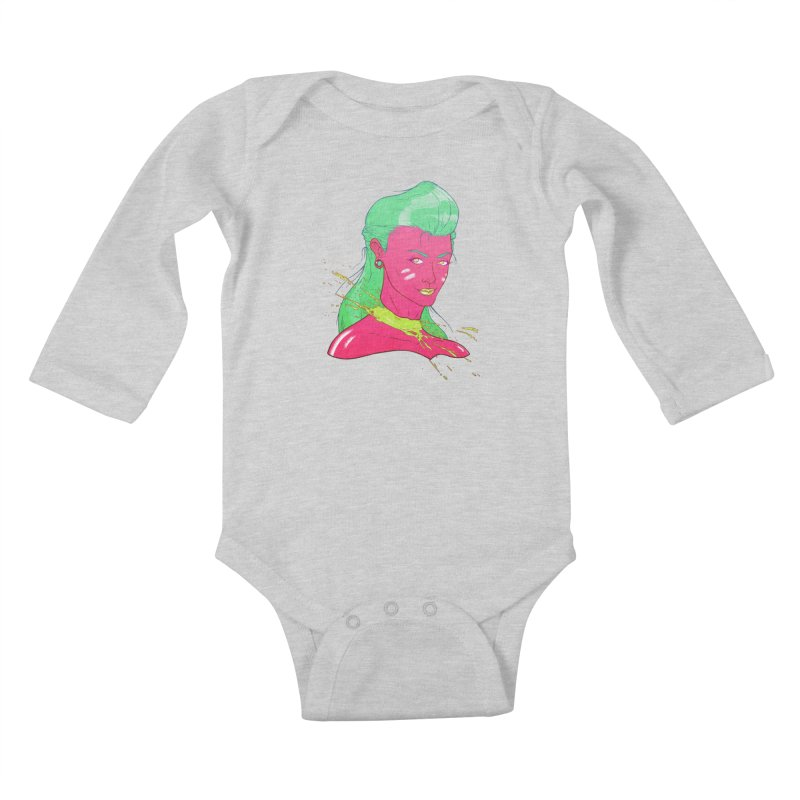Keep your head up Kids Baby Longsleeve Bodysuit by Astronauta Store