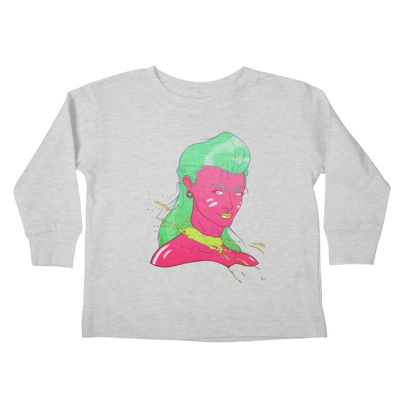 Keep your head up Kids Toddler Longsleeve T-Shirt by Astronauta Store