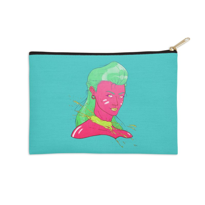 Keep your head up Accessories Zip Pouch by Astronauta Store
