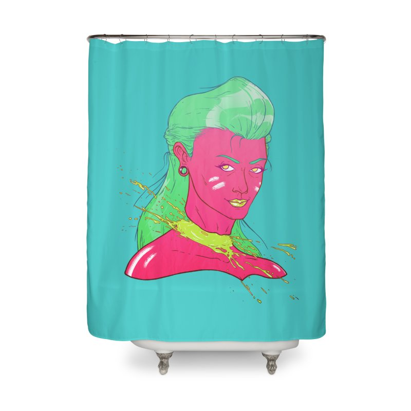 Keep your head up Home Shower Curtain by Astronauta Store