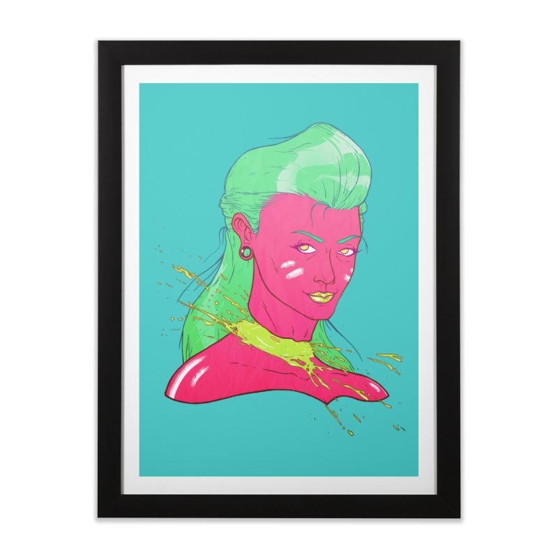 Keep your head up Home Framed Fine Art Print by Astronauta Store