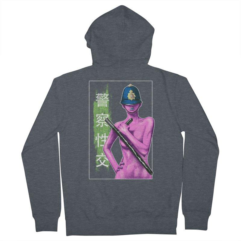 Mrs Officer Men's Zip-Up Hoody by Astronauta Store