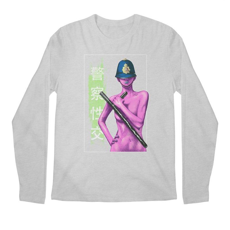 Mrs Officer Men's Longsleeve T-Shirt by Astronauta Store