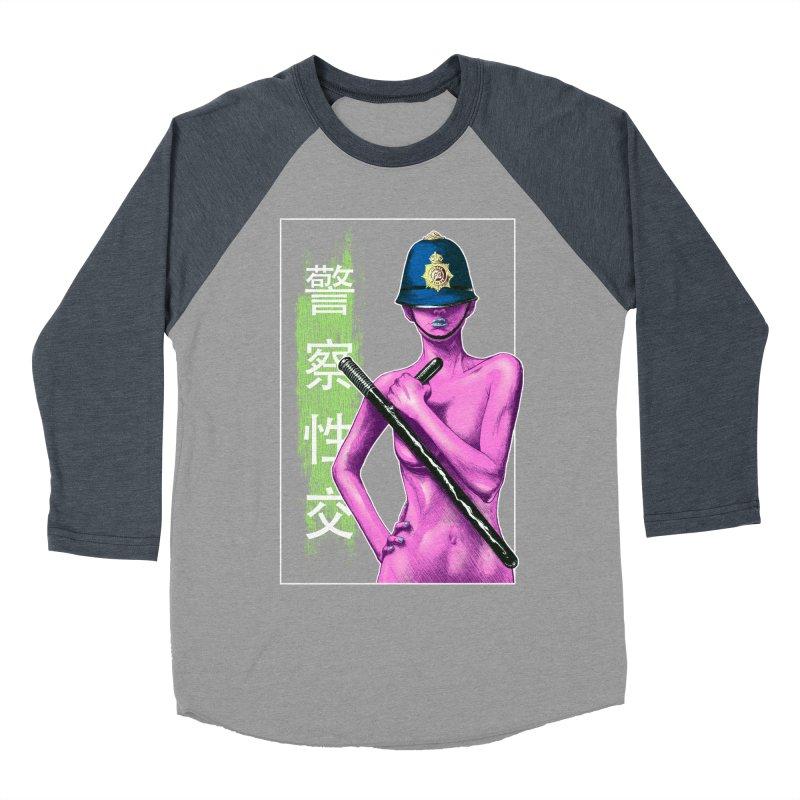 Mrs Officer Men's Baseball Triblend T-Shirt by Astronauta Store