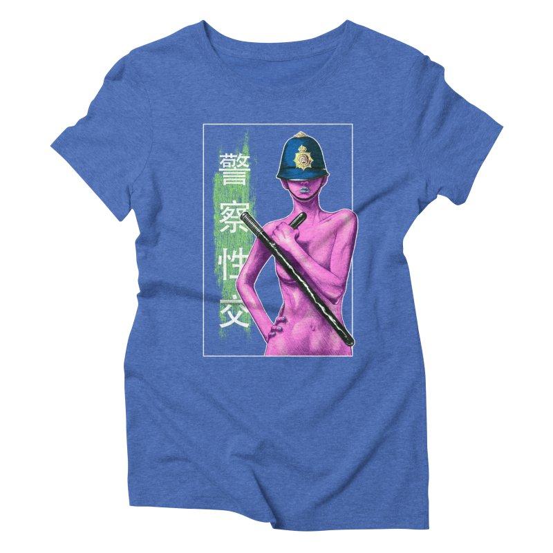 Mrs Officer Women's Triblend T-Shirt by Astronauta Store