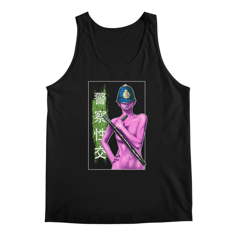 Mrs Officer Men's Tank by Astronauta Store