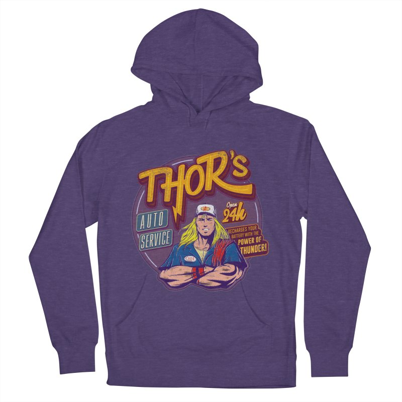 Thor's Auto Service Women's Pullover Hoody by Astronauta Store