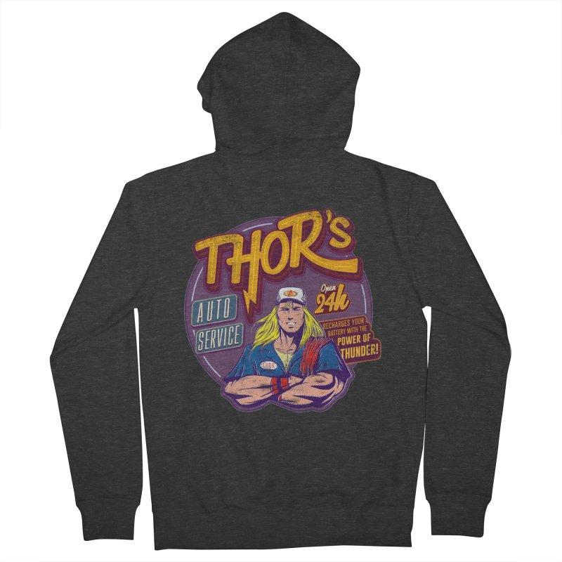 Thor's Auto Service Women's Zip-Up Hoody by Astronauta Store
