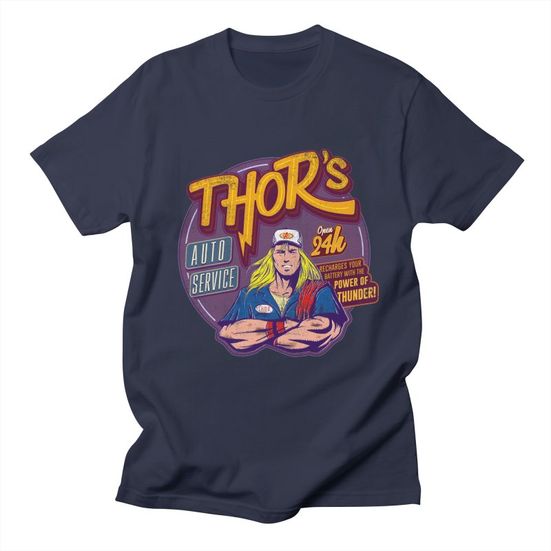 Thor's Auto Service Men's T-Shirt by Astronauta Store