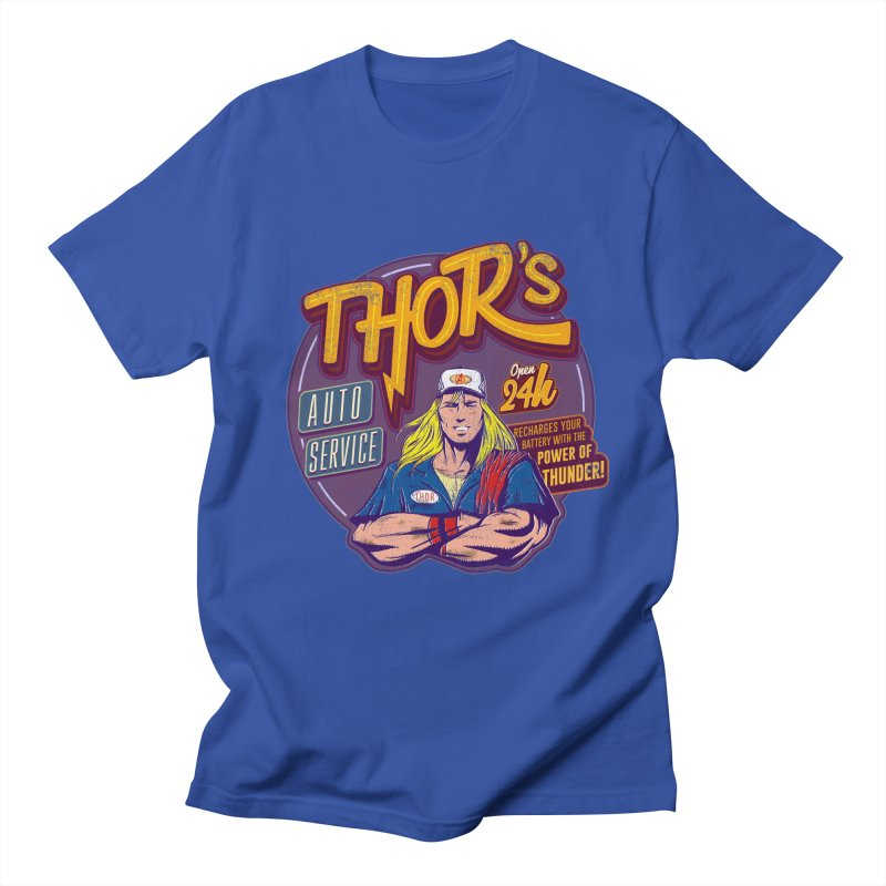 Thor's Auto Service Women's Unisex T-Shirt by Astronauta Store