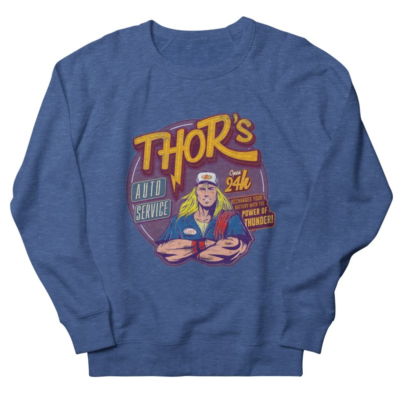 Thor's Auto Service Men's Sweatshirt by Astronauta Store