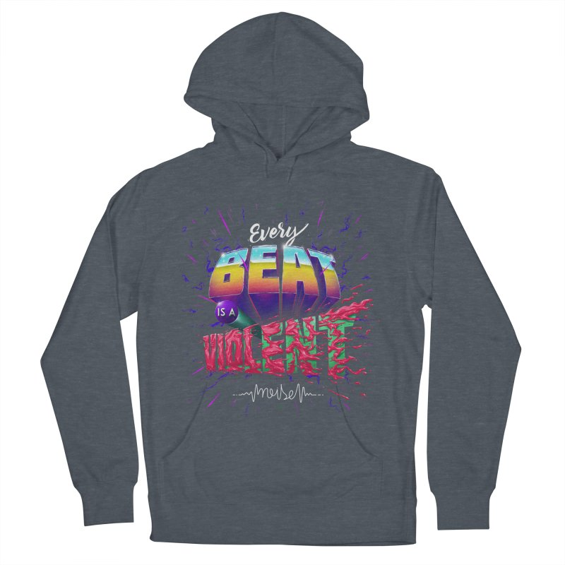 A Violent Noise Men's Pullover Hoody by Astronauta Store