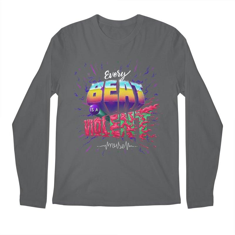 A Violent Noise Men's Longsleeve T-Shirt by Astronauta Store
