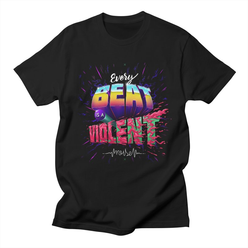 A Violent Noise Men's T-Shirt by Astronauta Store