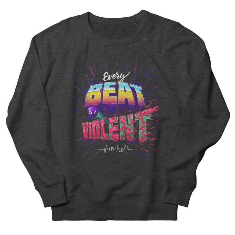 A Violent Noise Men's Sweatshirt by Astronauta Store