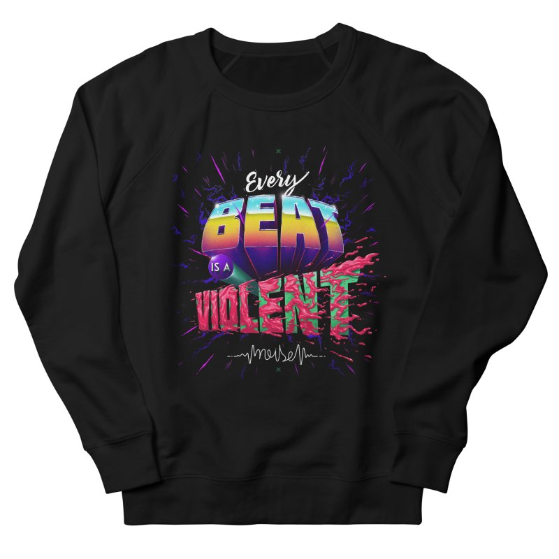 A Violent Noise Men's Sweatshirt by Astronauta Store