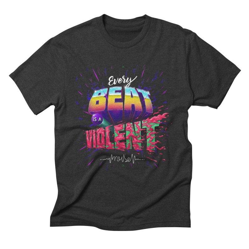 A Violent Noise Men's Triblend T-Shirt by Astronauta Store