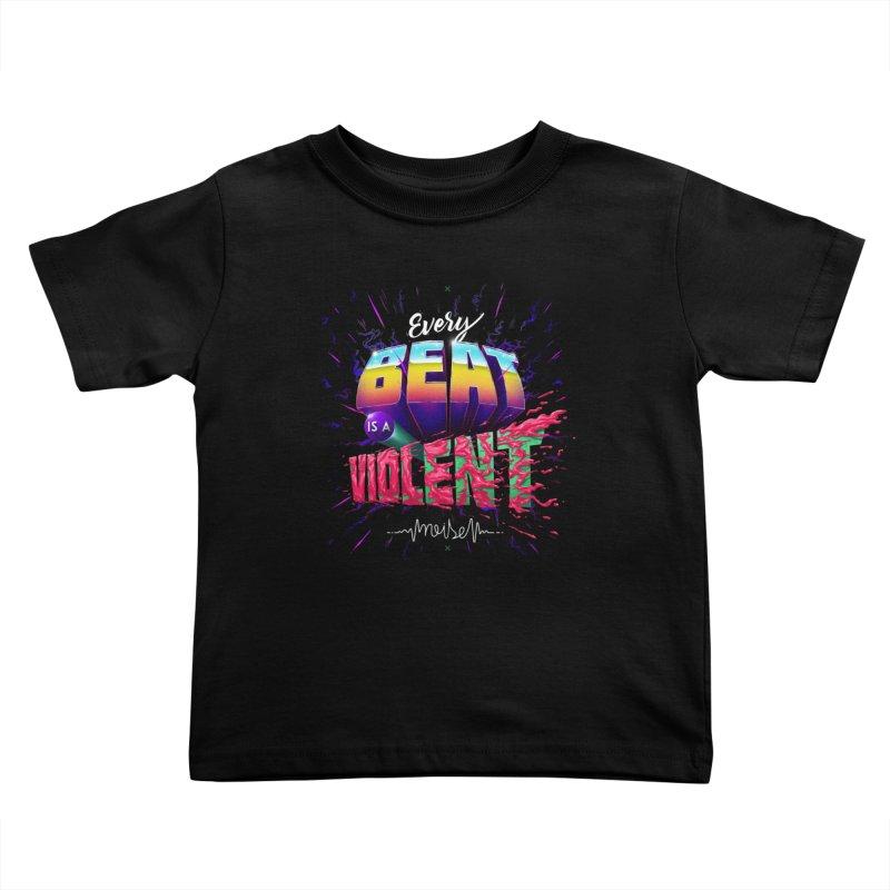 A Violent Noise Kids Toddler T-Shirt by Astronauta Store