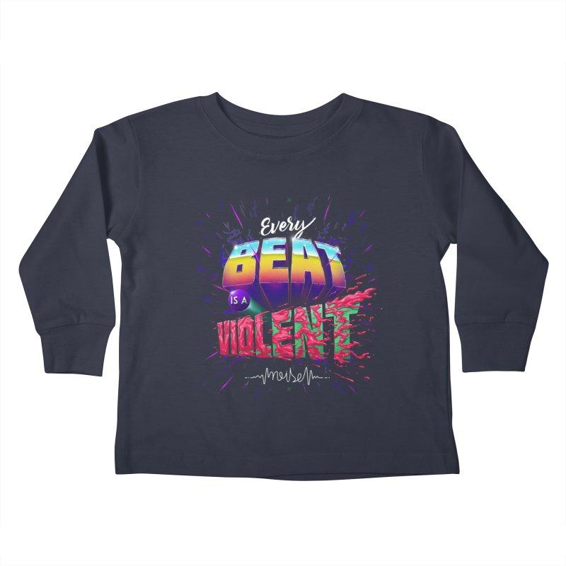 A Violent Noise Kids Toddler Longsleeve T-Shirt by Astronauta Store