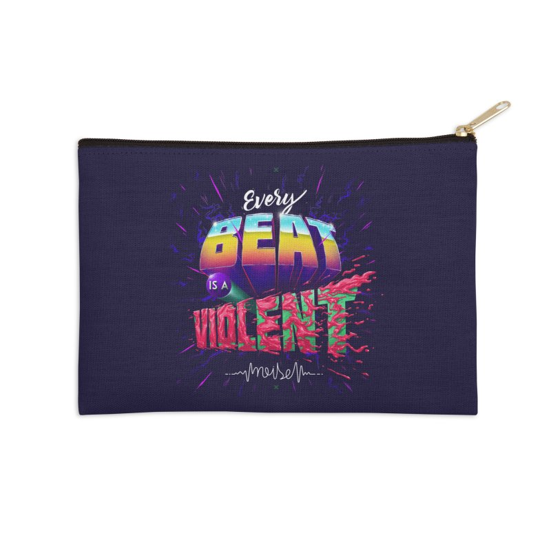 A Violent Noise Accessories Zip Pouch by Astronauta Store