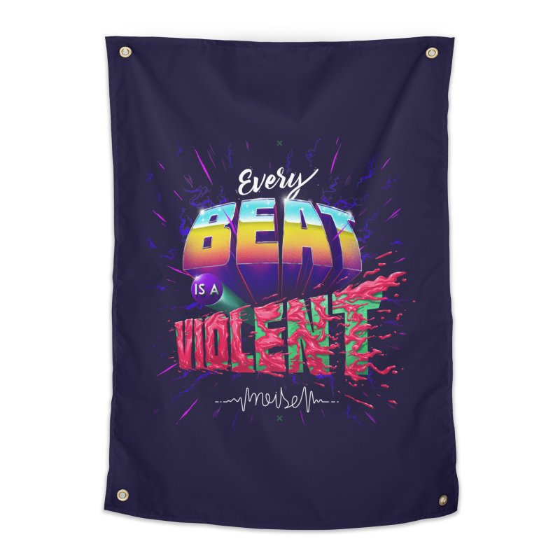A Violent Noise Home Tapestry by Astronauta Store