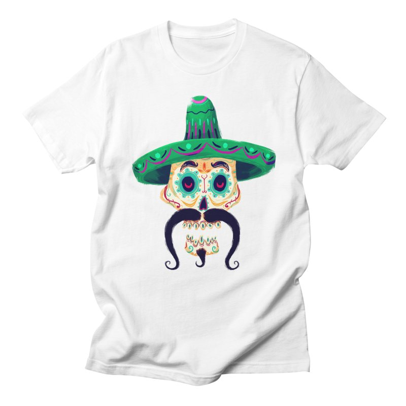 El Pistolero Men's T-Shirt by Astronauta Store